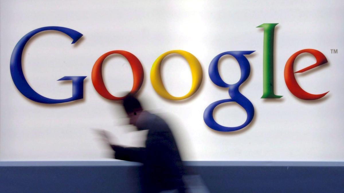 Una imagen del logo de Google.