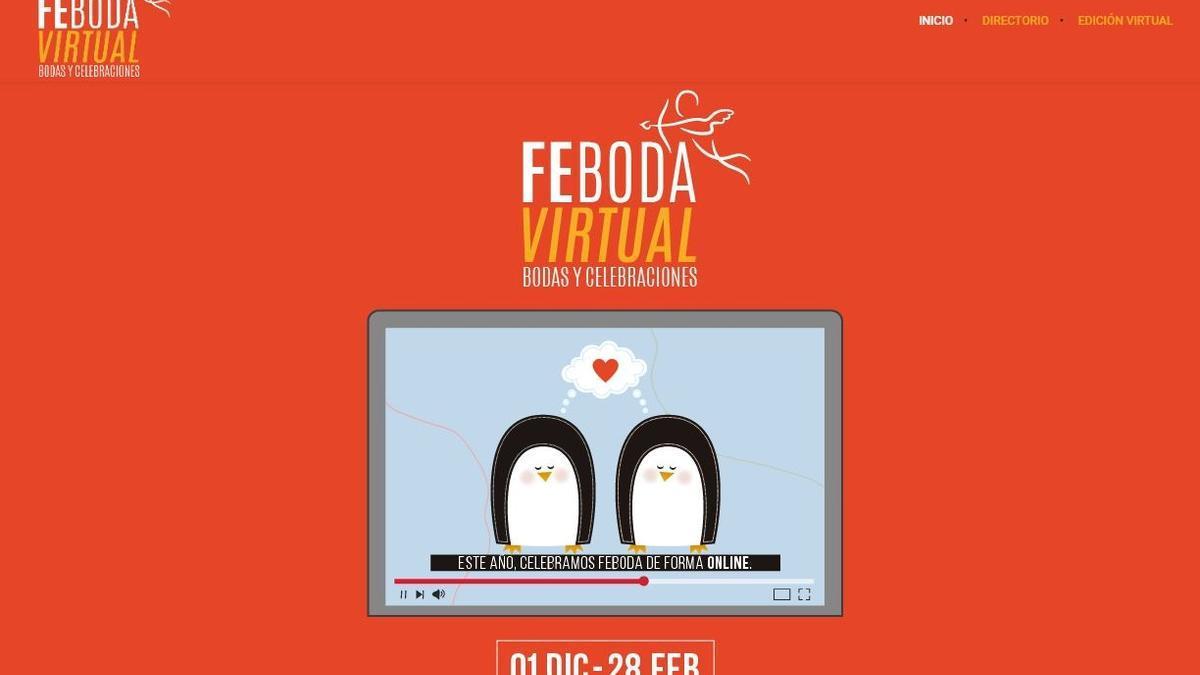 El Cabildo de Tenerife abre en formato virtual la feria 'Feboda'