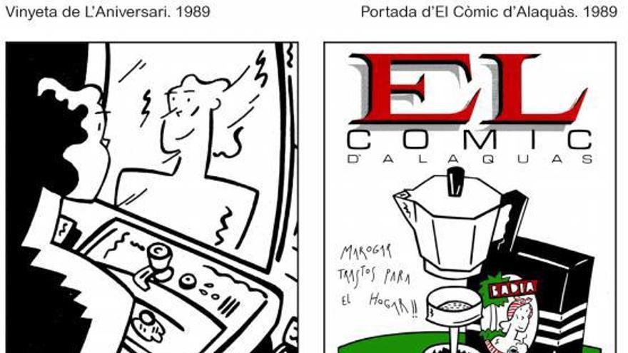 Gerard Miquel, el dibuixant que  mai no va renunciar als seus somnis