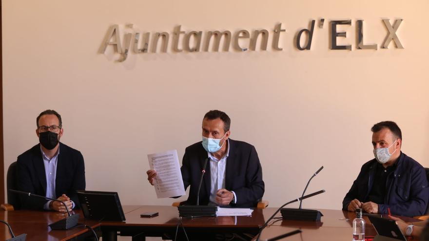 El alcalde de Elche defiende el rigor y la trasparencia de su gestión