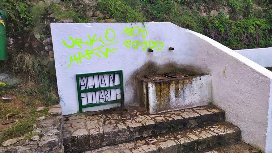 Vandalismo en una reserva de flora de Simat