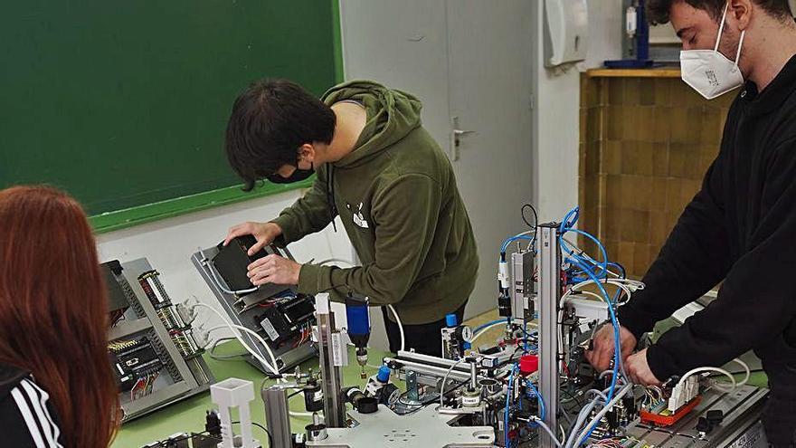 El Narcís Xifra rep 50.000 euros per l'ús de la «tecnologia 4.0 en l'aprenentatge»