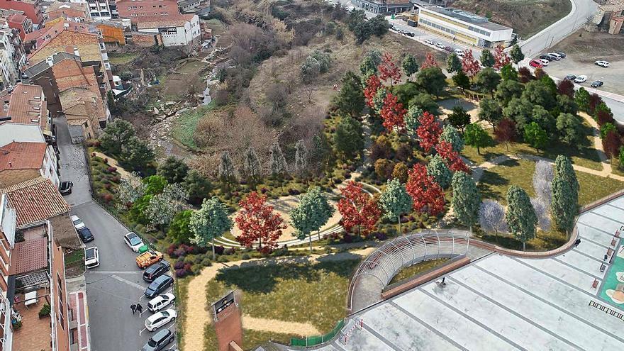 L'Ajuntament de Puig-reig preveu obrir el parc central abans d'acabar el 2022