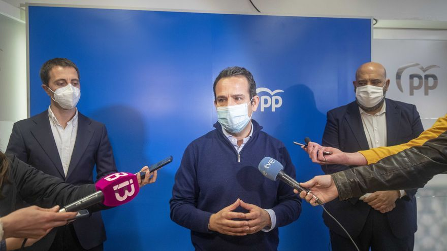 Jaime Martínez y Llorenç Galmés, nuevos presidentes del PP en Palma y Mallorca