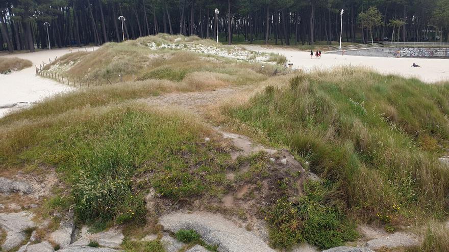 ¿Te parece bien el cambio en Samil con más arena y zonas verdes?