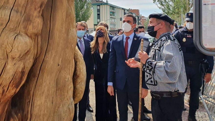 Sánchez ofrece en Soria construir una alianza nacional ante la despoblación