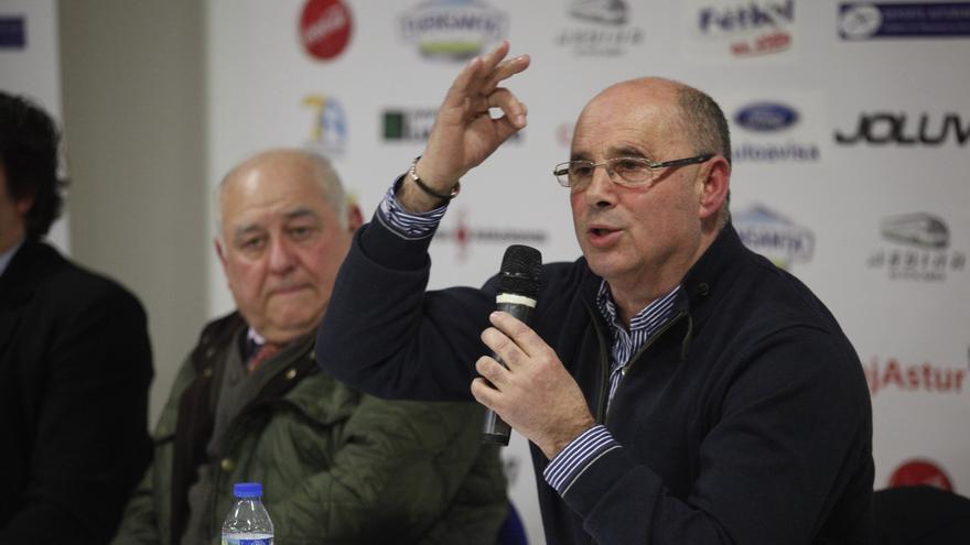 José Ramón Lobo, aspirante a la presidencia de la Federación Asturiana de Fútbol