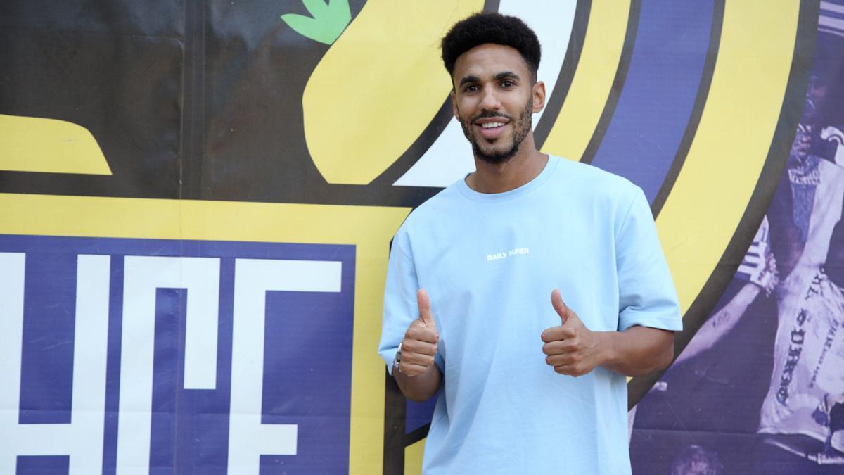 Rubén Belima, jugador del Hércules. | HCF