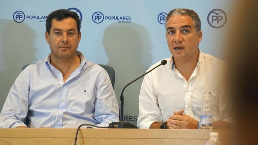 """Bendodo anuncia """"una confrontación directa al PSOE"""" ante """"la subida de impuestos"""""""