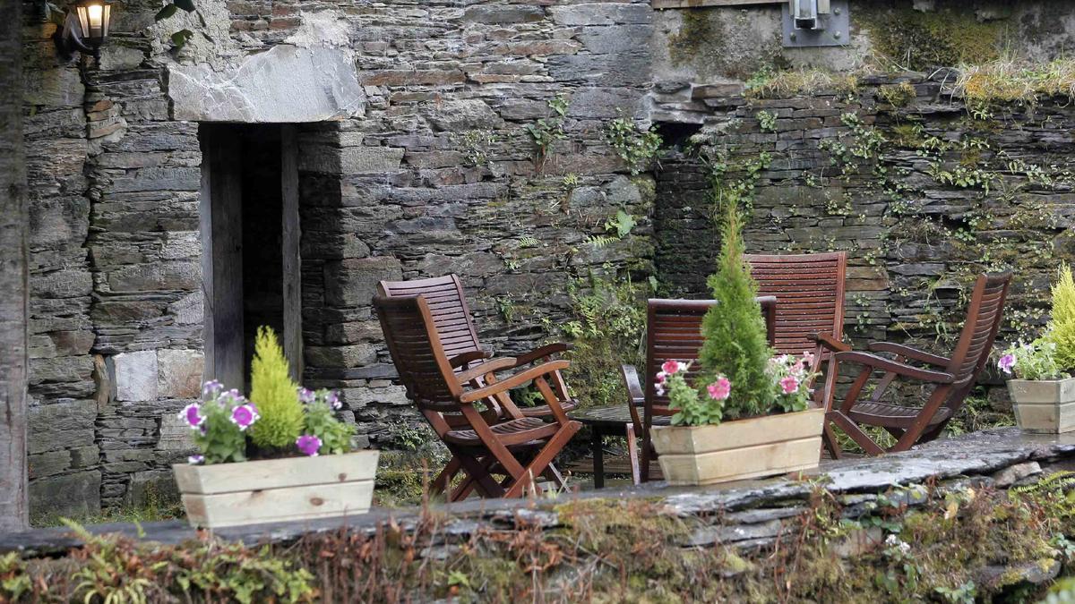 Un alojamiento rural vacío.