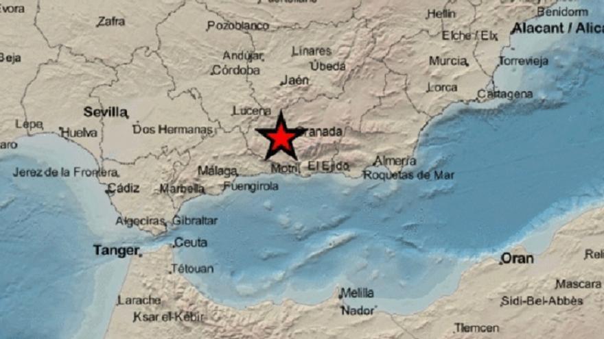 Sentido en Córdoba un nuevo terremoto en Granada de 4,2 grados