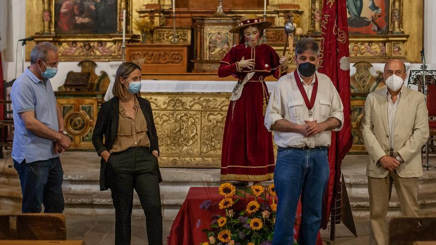 La Virgen Peregrina de Zamora se expone mañana en San Antolín