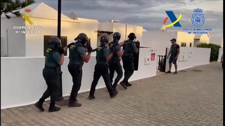 Cae una banda criminal tras la incautación de un gran alijo de cocaína en Lanzarote