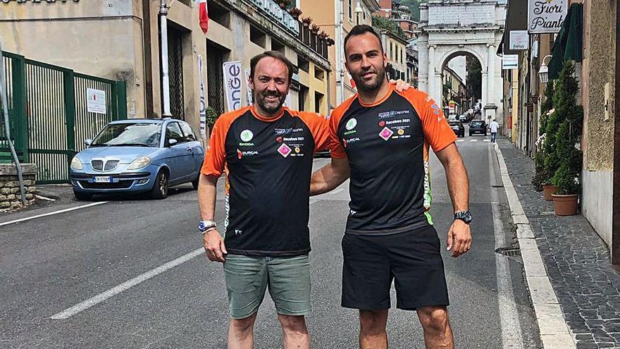 Vilariño y Murado se ven las caras con los mejores en el Rally di Roma 2021