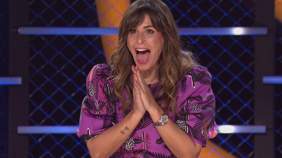 Nuria Roca in 'Mask singer'