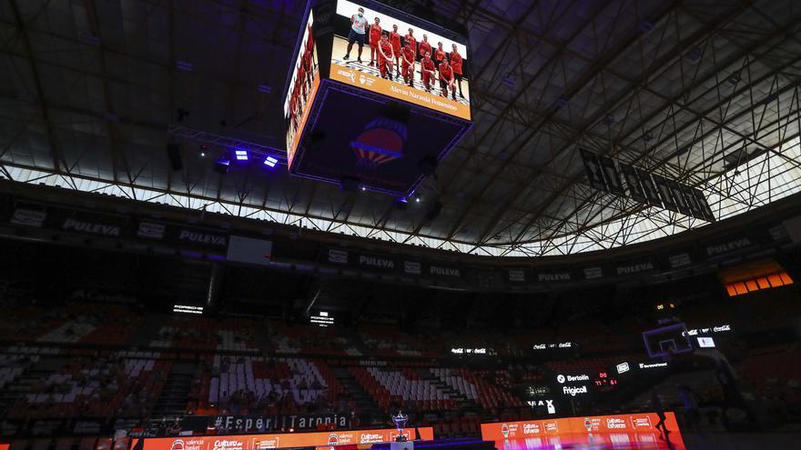 Valencia BC lanza el 'Abono ¡Basket Ya!', válido mientras duren las restricciones