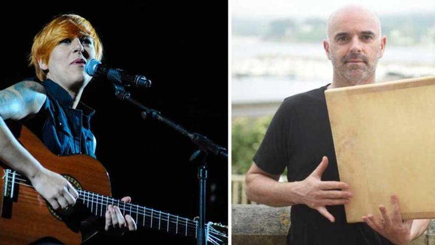 Sés y Xabier Díaz, cabezas de cartel en  el festival de música folk de Zas
