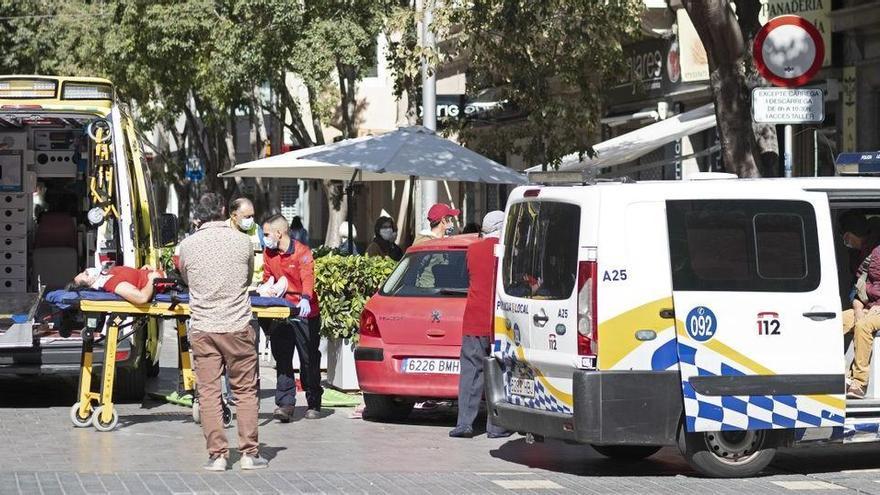 Un hombre atropella en Palma a su exmujer y a su amiga