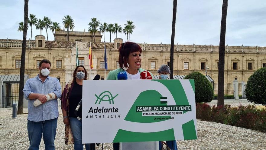 """Teresa Rodríguez anuncia para el 26 de junio la """"refundación"""" de Adelante Andalucía"""