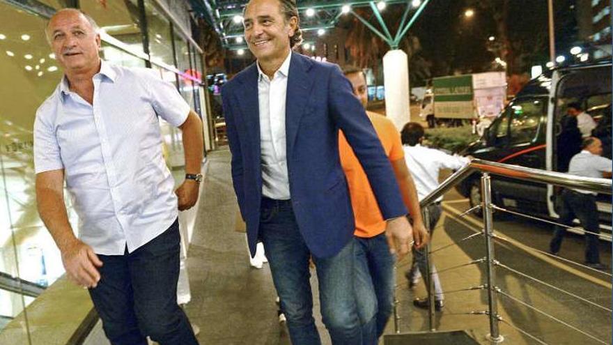 Scolari desvela que tuvo una oferta de Peter Lim para entrenar al Valencia