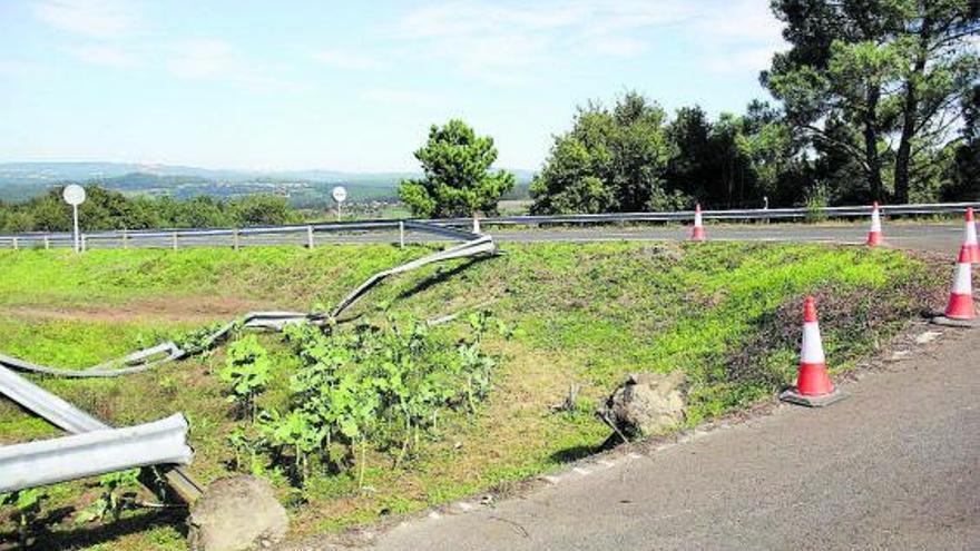 Dos fallecidos en accidentes de tráfico en Melide y A Estrada