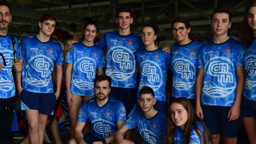 El Acuático Morvedre consigue dos mínimas nacionales en el XV Trofeo Internacional de Castellón