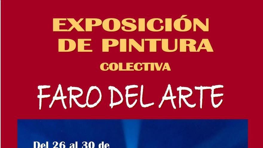 Exposición de pintura colectiva: 'Faro del arte'
