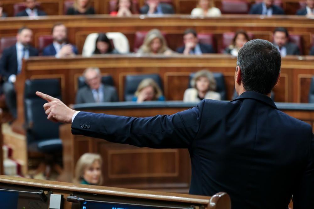 Primera sesión del debate de investidura del ...