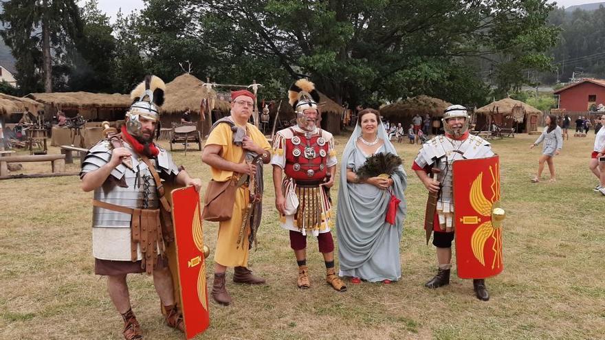 """Sagvntvm Civitas participa en la recreación de las """"Guerras Cántabras"""""""
