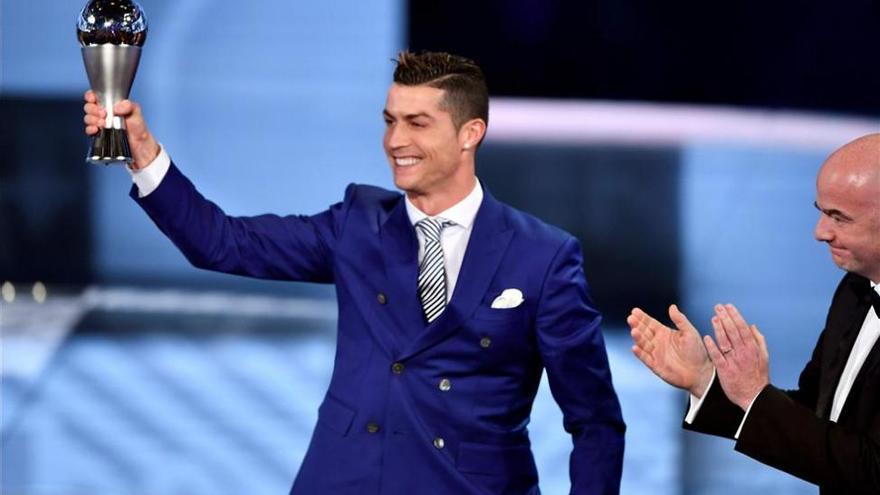 Cristiano Ronaldo, elegido The Best