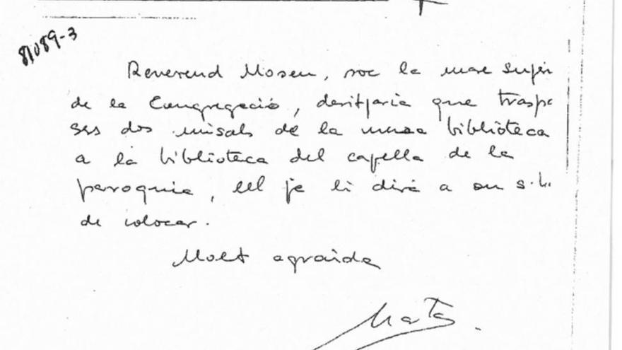 """Los Pujol tildan de """"fotocomposición"""" la nota de Ferrusola sobre misales"""
