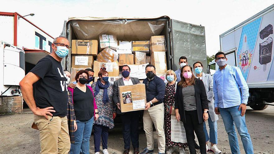 Caravana solidaria desde Ponteareas con destino al Sahara