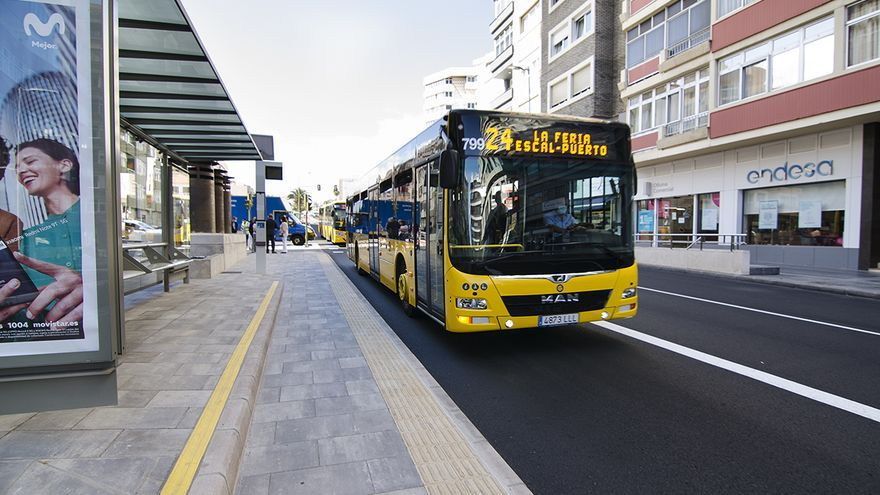 Guaguas empieza a utilizar este lunes el intercambiador de Concepción Arenal