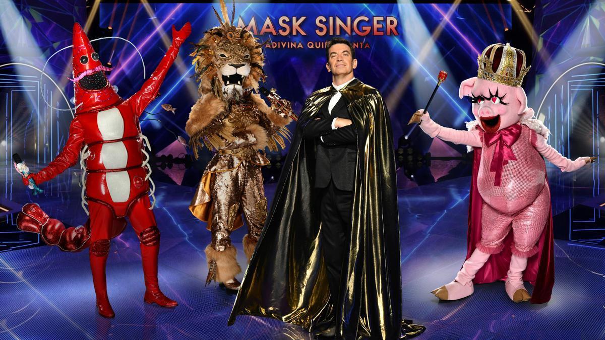 Las identidades de los concursantes de 'Mask Singer'.