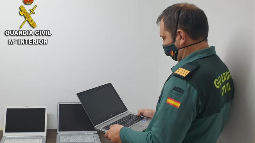 Detenido por hurtar dos portátiles en una empresa de O Porriño