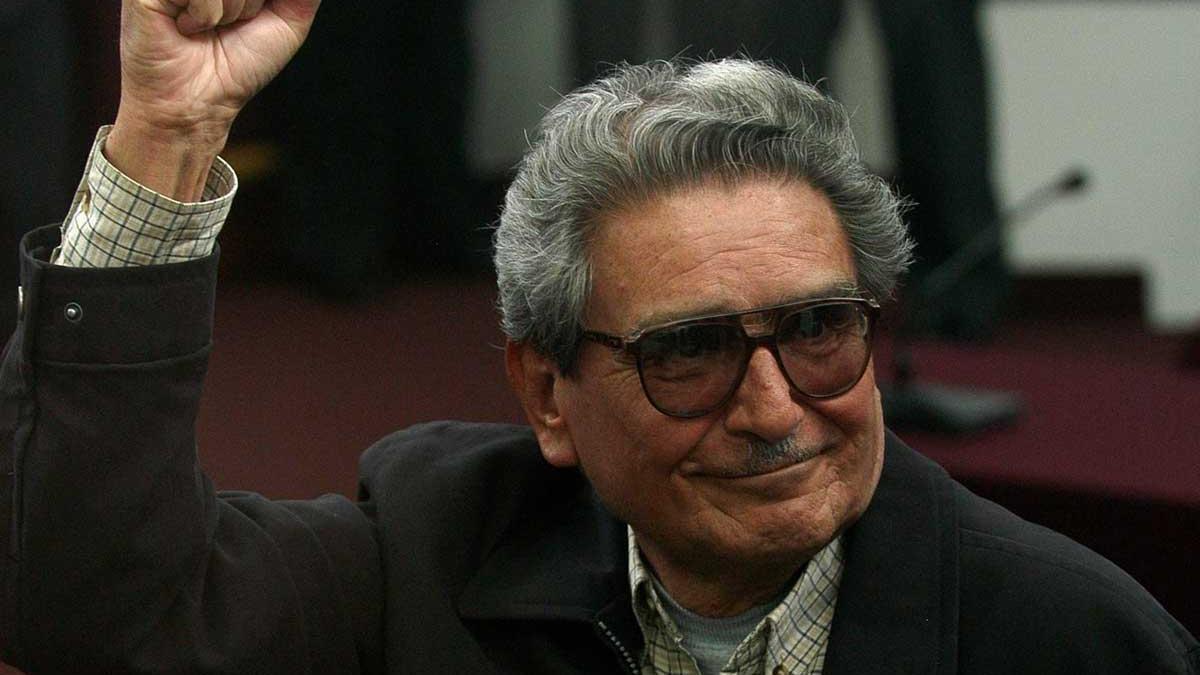 Abimael Guzmán, durante una audiencia judicial en 2012.
