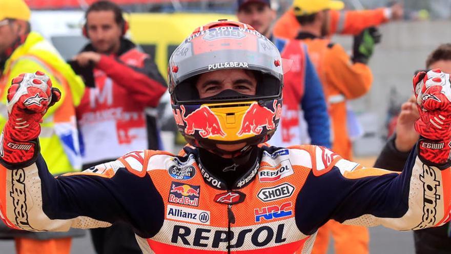 Márquez, una nova victòria d'autoritat