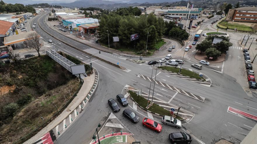 Los empresarios de Alcoy celebran el anuncio de construcción de la rotonda del acceso norte