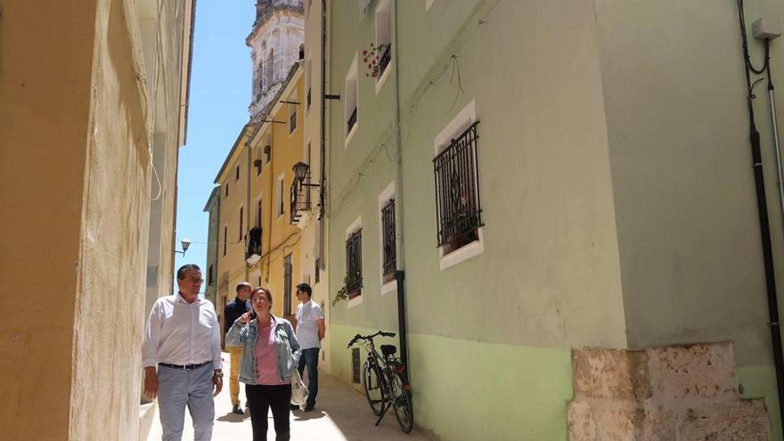 Ontinyent finaliza la tercera fase de la reurbanización integral del barrio de la Vila