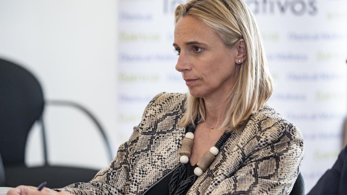 María Frontera, presidenta de la patronal FEHM.
