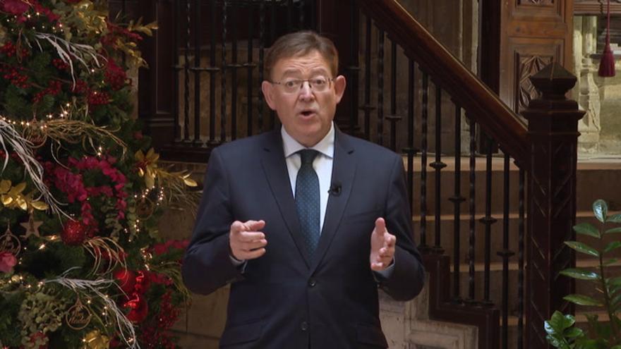 Mensaje de Navidad del president de la Generalitat, Ximo Puig