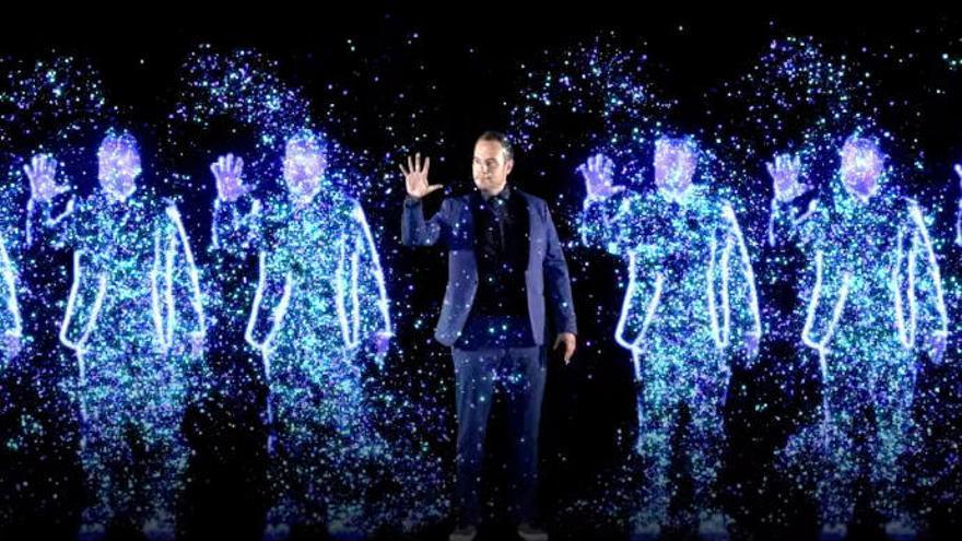 Jorge Blass presenta en Canarias la magia del futuro con su nueva 'Invención'
