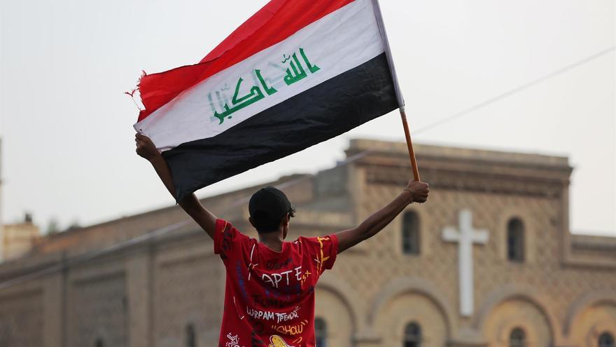 Mueren al menos 2 personas en Bagdad en protestas contra la muerte de manifestantes