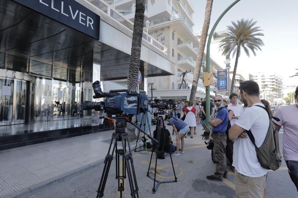 La jueza resuelve que los 181 estudiantes no contagiados pueden abandonar el hotel covid de Palma