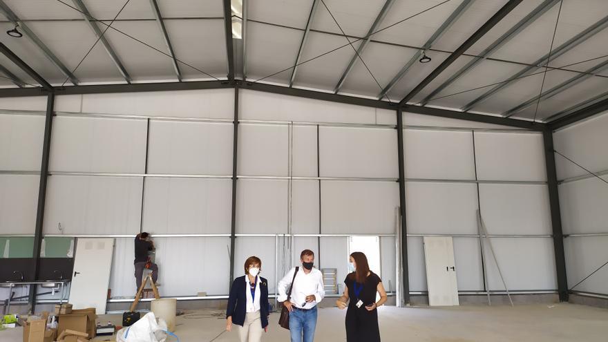 El aeropuerto de Castellón ultima los preparativos de la nueva FP de mantenimiento de aviones