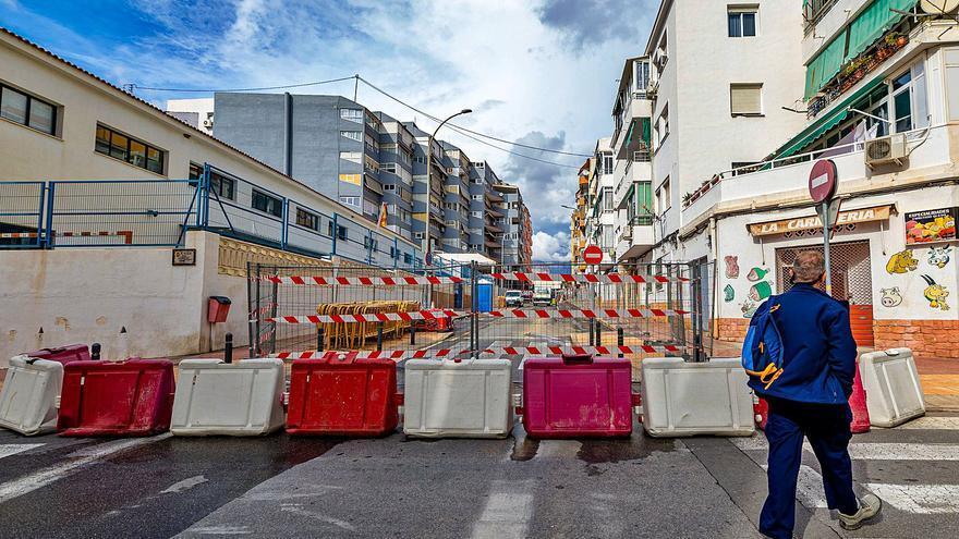 Las obras de dos barrios de Benidorm se harán a tramos para no complicar el tráfico