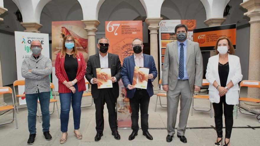 El Festival de Mérida apuesta por la inclusión de las personas ciegas con dos propuestas escénicas