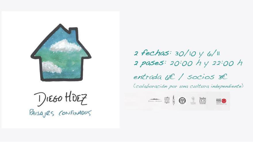 Concierto Diego Hdez: Paisajes confinados