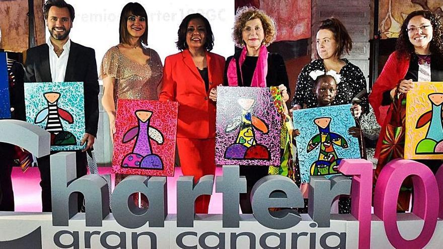 La Asociación de mujeres  empresarias Charter 100 entrega sus premios anuales
