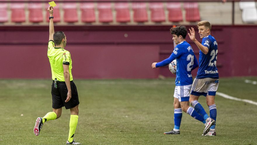 El análisis sobre el Logroñés-Oviedo (0-0) y las notas a los jugadores: Nieto, el mejor